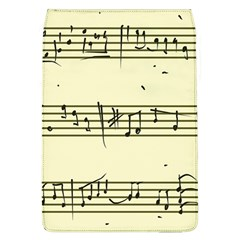 Music Notes On A Color Background Flap Covers (l)