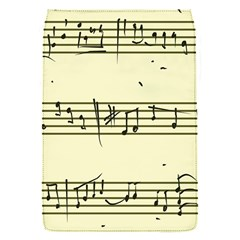 Music Notes On A Color Background Flap Covers (s)