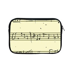 Music Notes On A Color Background Apple Ipad Mini Zipper Cases