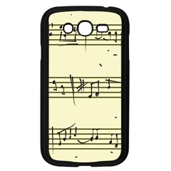 Music Notes On A Color Background Samsung Galaxy Grand Duos I9082 Case (black)