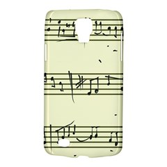 Music Notes On A Color Background Galaxy S4 Active