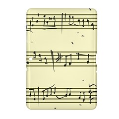 Music Notes On A Color Background Samsung Galaxy Tab 2 (10.1 ) P5100 Hardshell Case