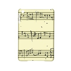 Music Notes On A Color Background Ipad Mini 2 Hardshell Cases