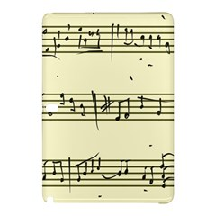 Music Notes On A Color Background Samsung Galaxy Tab Pro 10.1 Hardshell Case