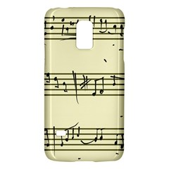 Music Notes On A Color Background Galaxy S5 Mini