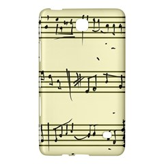 Music Notes On A Color Background Samsung Galaxy Tab 4 (7 ) Hardshell Case