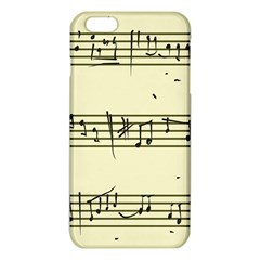Music Notes On A Color Background Iphone 6 Plus/6s Plus Tpu Case