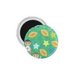 Football Kids Children Pattern 1.75  Magnets