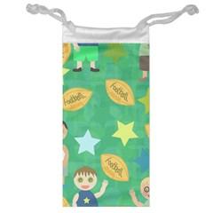 Football Kids Children Pattern Jewelry Bag