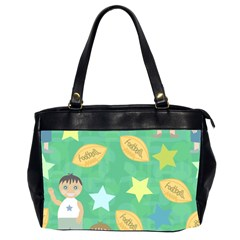 Football Kids Children Pattern Office Handbags (2 Sides)