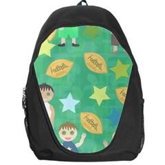 Football Kids Children Pattern Backpack Bag