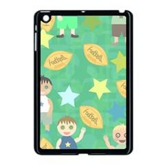 Football Kids Children Pattern Apple iPad Mini Case (Black)