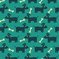 Happy Dogs Animals Pattern Canvas 20  x 20