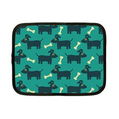 Happy Dogs Animals Pattern Netbook Case (small)