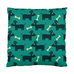 Happy Dogs Animals Pattern Standard Cushion Case (one Side)