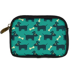 Happy Dogs Animals Pattern Digital Camera Cases