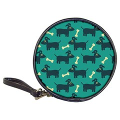 Happy Dogs Animals Pattern Classic 20 Cd Wallets