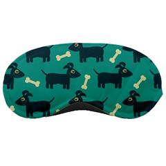 Happy Dogs Animals Pattern Sleeping Masks