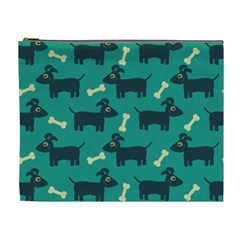 Happy Dogs Animals Pattern Cosmetic Bag (XL)