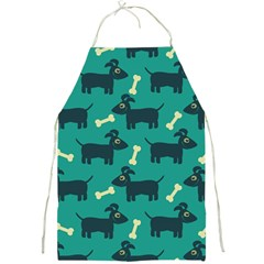 Happy Dogs Animals Pattern Full Print Aprons