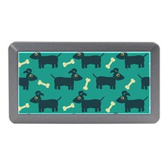 Happy Dogs Animals Pattern Memory Card Reader (Mini)