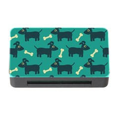 Happy Dogs Animals Pattern Memory Card Reader With Cf
