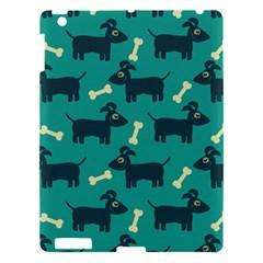 Happy Dogs Animals Pattern Apple Ipad 3/4 Hardshell Case