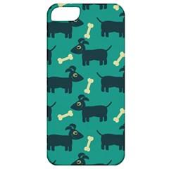 Happy Dogs Animals Pattern Apple Iphone 5 Classic Hardshell Case