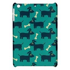 Happy Dogs Animals Pattern Apple Ipad Mini Hardshell Case