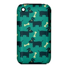 Happy Dogs Animals Pattern iPhone 3S/3GS