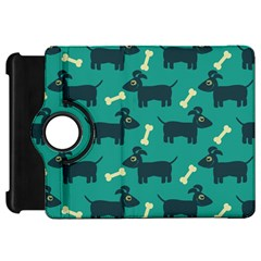 Happy Dogs Animals Pattern Kindle Fire Hd 7