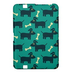 Happy Dogs Animals Pattern Kindle Fire Hd 8 9