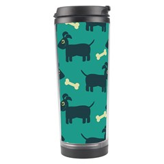 Happy Dogs Animals Pattern Travel Tumbler