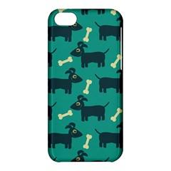 Happy Dogs Animals Pattern Apple Iphone 5c Hardshell Case