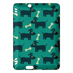 Happy Dogs Animals Pattern Kindle Fire Hdx Hardshell Case