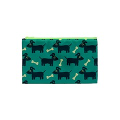 Happy Dogs Animals Pattern Cosmetic Bag (XS)