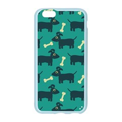 Happy Dogs Animals Pattern Apple Seamless iPhone 6/6S Case (Color)