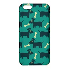 Happy Dogs Animals Pattern iPhone 6/6S TPU Case