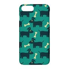 Happy Dogs Animals Pattern Apple Iphone 7 Plus Hardshell Case