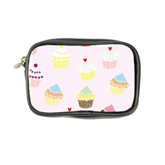 Seamless Cupcakes Wallpaper Pattern Background Coin Purse