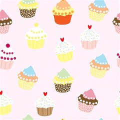Seamless Cupcakes Wallpaper Pattern Background Magic Photo Cubes