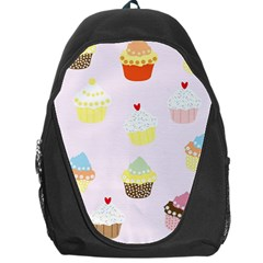 Seamless Cupcakes Wallpaper Pattern Background Backpack Bag