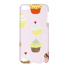 Seamless Cupcakes Wallpaper Pattern Background Apple iPod Touch 5 Hardshell Case