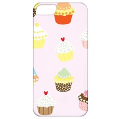 Seamless Cupcakes Wallpaper Pattern Background Apple iPhone 5 Classic Hardshell Case