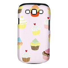 Seamless Cupcakes Wallpaper Pattern Background Samsung Galaxy S Iii Classic Hardshell Case (pc+silicone)