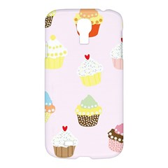 Seamless Cupcakes Wallpaper Pattern Background Samsung Galaxy S4 I9500/I9505 Hardshell Case