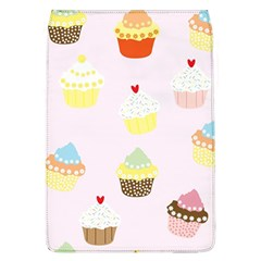 Seamless Cupcakes Wallpaper Pattern Background Flap Covers (L)