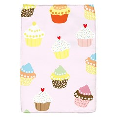 Seamless Cupcakes Wallpaper Pattern Background Flap Covers (S)