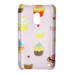 Seamless Cupcakes Wallpaper Pattern Background Nokia Lumia 620