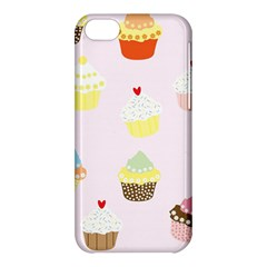 Seamless Cupcakes Wallpaper Pattern Background Apple Iphone 5c Hardshell Case